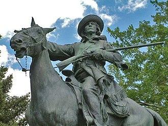 Henry Augustus Lukeman - Kit Carson equestrian statue, Trinidad, Colorado (with Frederick Roth).
