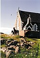 Eriskay Church and Ponies - geograph.org.uk - 65549.jpg
