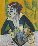 Ernst Ludwig Kirchner - Erna mit Zigarette - 14531 - Bavarian State Painting Collections.jpg