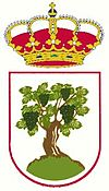 Official seal of La Parra, Spain