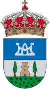 Official seal of Santa María del Páramo, Spain