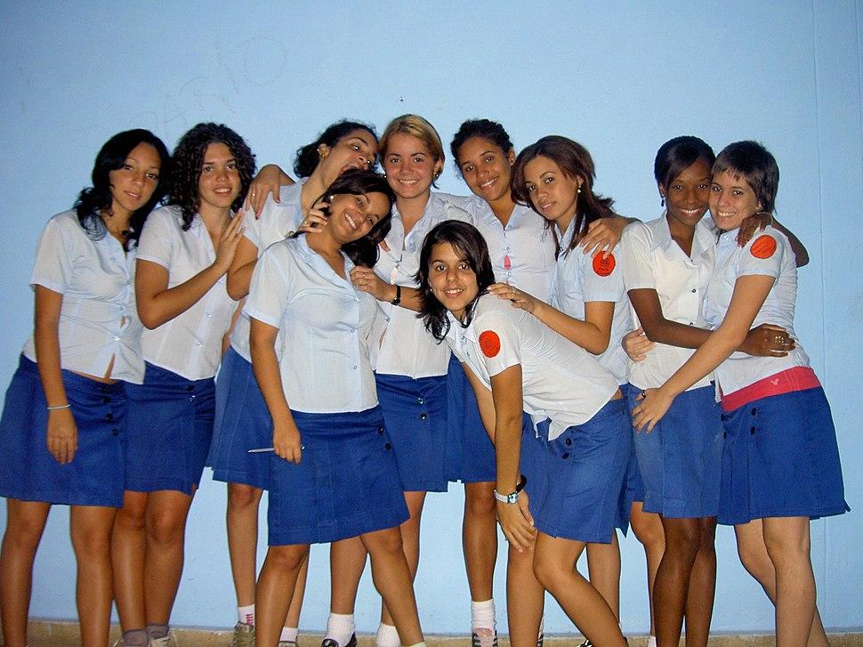 Escuela Lenin(estudiantes)