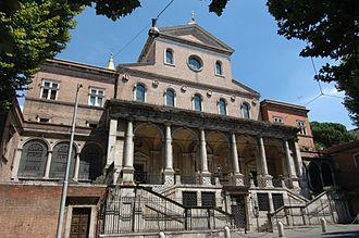 Sant'Antonio da Padova in Via Merulana - Image: Esquilino S.Antonio da Padova Facciata