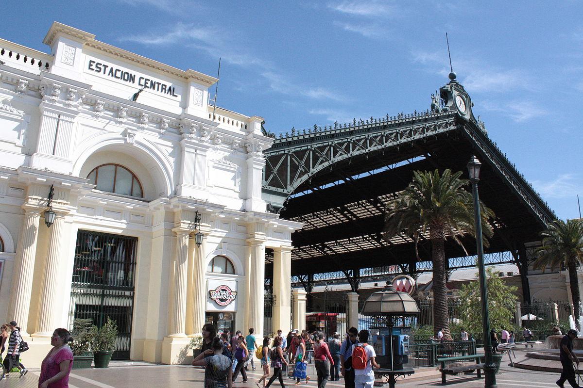 Estación Central de Santiago Wikipedia, la enciclopedia libre