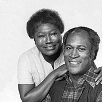 Esther Rolle and John Amos. Good Times, 1974.JPG