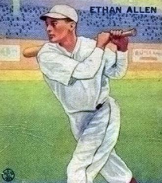 Ethan Allen (baseball) - Image: Ethan Allenbaseballcard