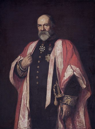 Walter Buller - Portrait of Sir Walter Buller (1903)