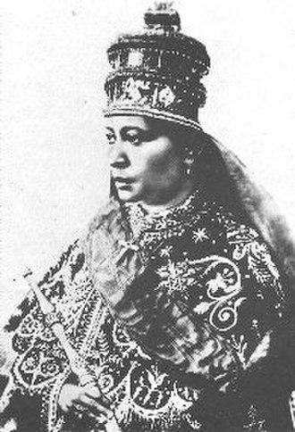 Zewditu - Image: Ethiopia empress zauditu