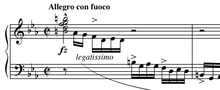 Excerpt from Chopin's Etude Op.10 No.2