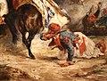 Eugène delacroix, il combattimento di giaour e hassan, 1826, 03.jpg