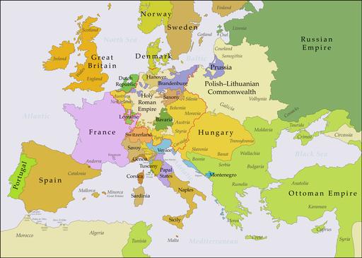 Europe 1740 en