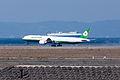 Eva Airways ,BR132 ,Boeing 777-36N(ER) ,B-16719 ,Arrived from Taipei ,Kansai Airport (16480839090).jpg
