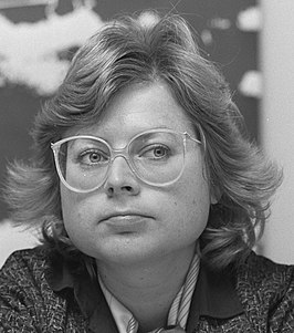 Eveline Herfkens in 1986