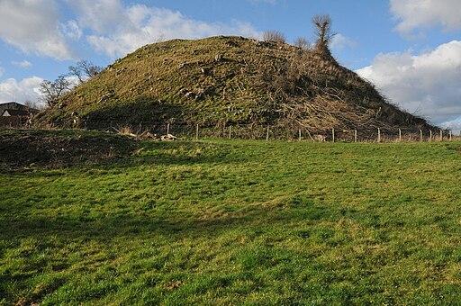Ewyas Harold Castle (Geograph 2291636 by Philip Halling)
