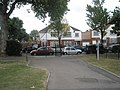 Exiting Southall Park into Green Drive - geograph.org.uk - 1528764.jpg
