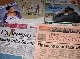 Image illustrative de l'article Expresso (hebdomadaire)