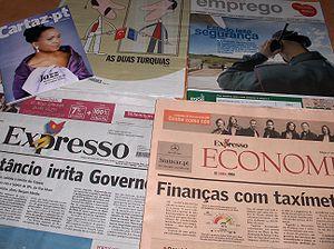 Expresso (newspaper) - Expresso (April 2006), (bottom left)