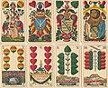 F.A. Lattmann Goslar Spiel mit Ansichten und Indexzeichen Sächsisches Einfachbild Schwerterkarten.jpg