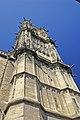 F06.Nevers, Kathedrale.Glockenturm , Südseite1102.JPG