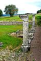 F07 Alesia Ausgrabungen, Säulen des Atriums.0021.JPG