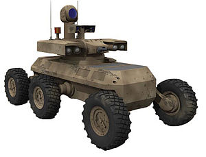 Combat vehicle - The Armed Robotic Vehicle variant of the MULE