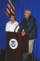 FEMA - 41179 - FEMA Administrator W. Craig Fugate and DHS Secreatary Napolitano at a press conference in Florida.jpg