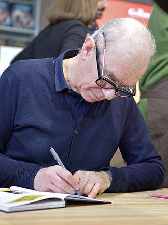 Joost Swarte - Joost Swarte in autograph session at Angoulême International Comics Festival 2015