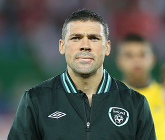 Jonathan Walters - Walters in action for the Republic of Ireland, September 2013.