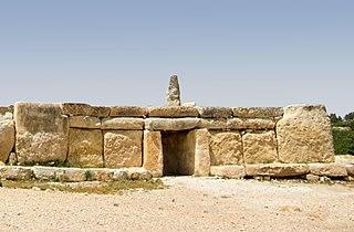 Ħaġar Qim megalith