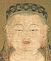 Face detail, Ksitigarbha with the Ten Kings of Hell (Seikado Bunko Art Museum) (cropped).jpg