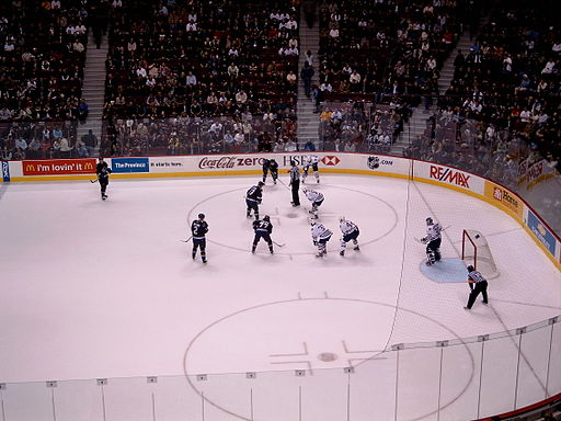 Face off vancouver canucks