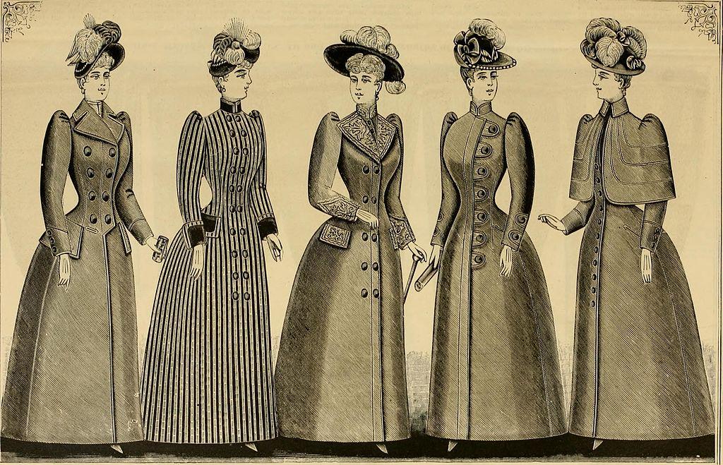 1890 Fashion Plate
