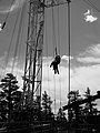 Falls are the fifth most common event leading to an occupational fatality for oil and gas extraction workers (9406567563).jpg