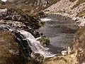 Falls pool Duartmore Burn - geograph.org.uk - 924159.jpg