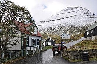 Slættaratindur - Image: Faroe Islands, Eysturoy, Funningur (6)