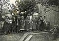 Fass bauen beim Schuederbauern nach Arbeitsschluss 1935.jpg