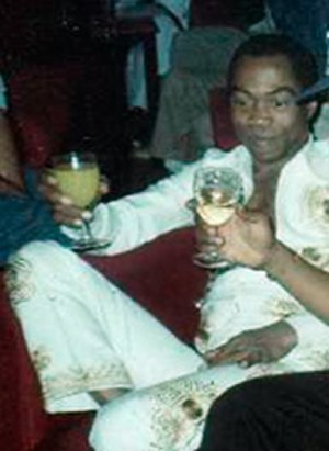 Confusion (album) - Kuti, photographed in 1970