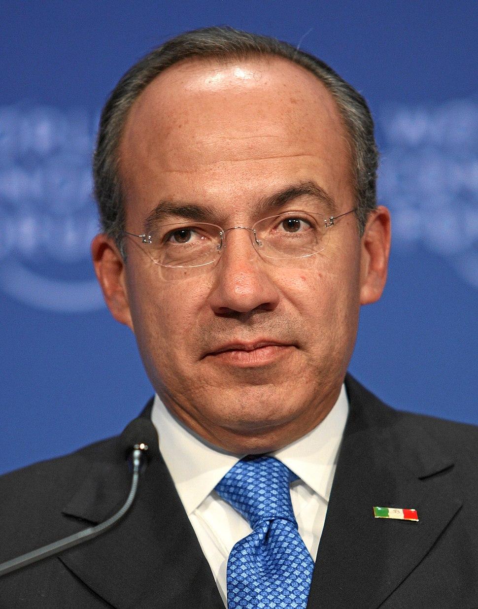 Felipe Calderon 20090130 (cropped)