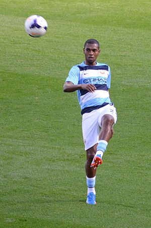 Fernandinho (footballer) - Fernandinho playing for Manchester City in September 2013.