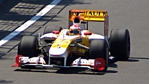 2009 European Grand Prix - Fernando Alonso finished in sixth in front of his home crowd.
