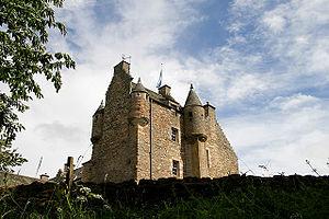 Ferniehirst Castle - Ferniehirst Castle, keep