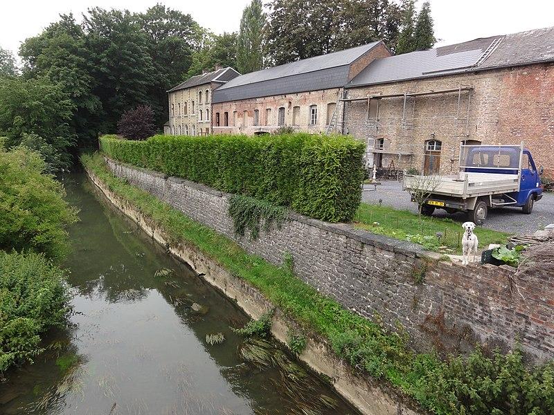Ferrière-la-Grande (Nord, Fr) rivière la Solre