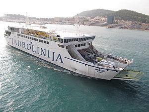 Ferry Marjan - Split, Croatia - 24 Sept. 2011.jpg
