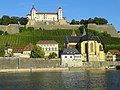 Feste Marienberg and the Main River - Würzburg - DSC02792.JPG