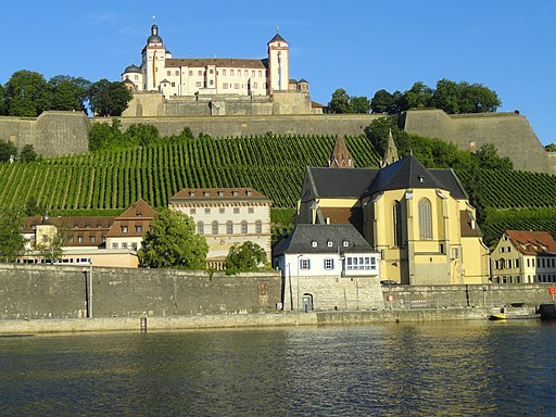 Feste Marienberg and the Main River - Würzburg - DSC02792