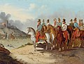 Field Marshal Count Radetzky with his staff on the battlefields of Northern Italy.jpg