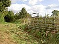 Field gate near the A46 - geograph.org.uk - 990396.jpg