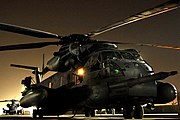 Final Combat Mission of MH-53 Pave Low, Sept. 27, 2008, Iraq