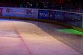Finale de la coupe de France de Hockey sur glace 2013 - 014 - glace après passage de la surfaceuse.jpg