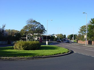 Meols - Image: Fingerpost to Greasby, Meols geograph.org.uk 78085